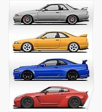 Skyline GTR. Generation Poster