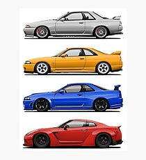 Skyline GTR. Generation Photographic Print