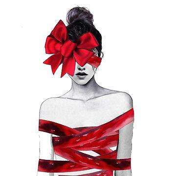 Red Woman by leonarde