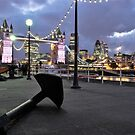 Tower Bridge and the Anchor  by Alessandro Pinto