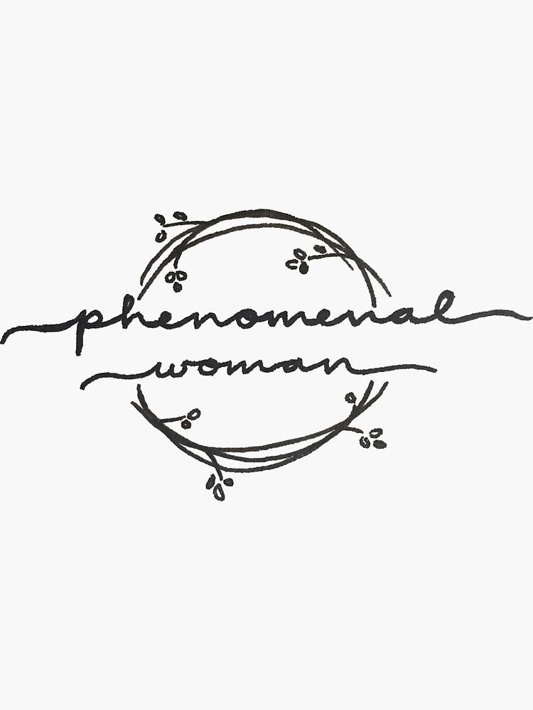 Phenomenal Woman by leeschmidtay