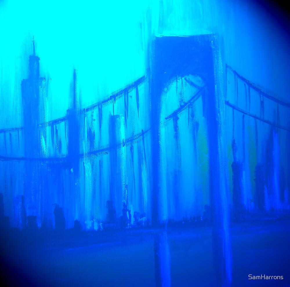 Blue City by SamHarrons