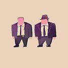 Gordon and Bullock by Messypandas