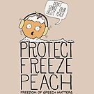 Protect Free Speech - Freeze Peach by jitterfly