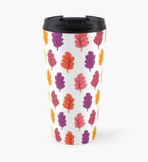 Maple Leaf Rainbow Travel Mug