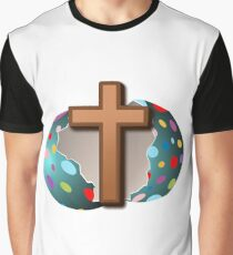 Real Easter Egg Graphic T-Shirt