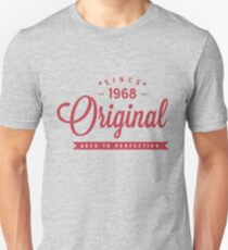 Since 1968 Original Aged To Perfection T-Shirt