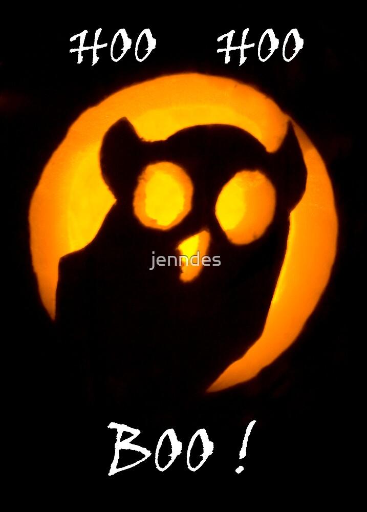 Hoo Hoo Boo! (Card) by jenndes