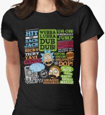 Wubba Lubba Dub Dub II Womens Fitted T-Shirt