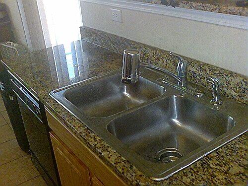kitchen sink done by Elegant Edge by Sinyatta M