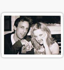 Seth Meyers and Amy Poehler Sticker