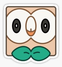Rowlet! I choose you! - Cover Sticker