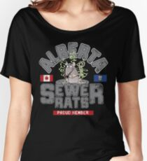 Official Alberta Sewer Rats Proud Member Women's Relaxed Fit T-Shirt