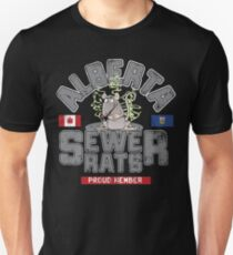 Official Alberta Sewer Rats Proud Member T-Shirt
