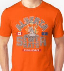 Official Alberta Sewer Rats Proud Member Unisex T-Shirt