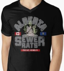 Official Alberta Sewer Rats Proud Member Men's V-Neck T-Shirt
