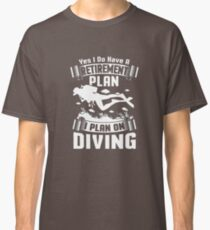Therapy Scuba Diving Cranberry T-Shirt  Classic T-Shirt