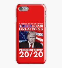 Trump 20/20 iPhone Case/Skin