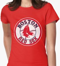 Boston Red Sox MLB Womens Fitted T-Shirt