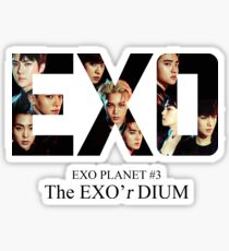 Exo'rdium - Exo Sticker