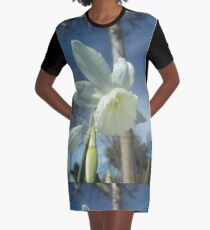 Photo of a Daffodil Graphic T-Shirt Dress