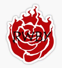 RWBY Emblem Sticker Sticker
