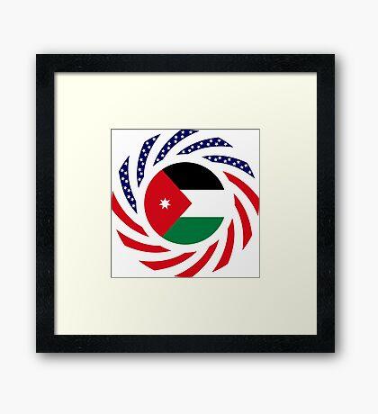 Jordani American Multinational Patriot Flag Series Framed Print