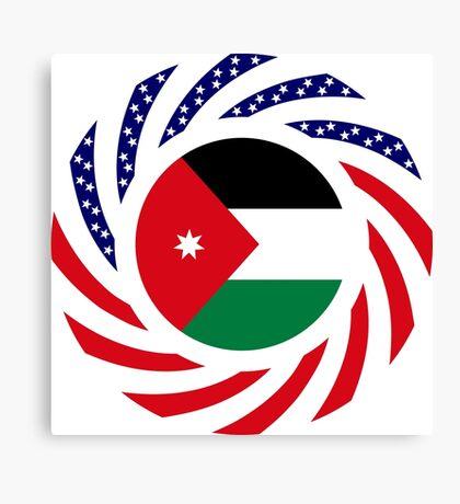 Jordani American Multinational Patriot Flag Series Canvas Print