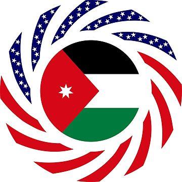 Jordani American Multinational Patriot Flag Series by carbonfibreme