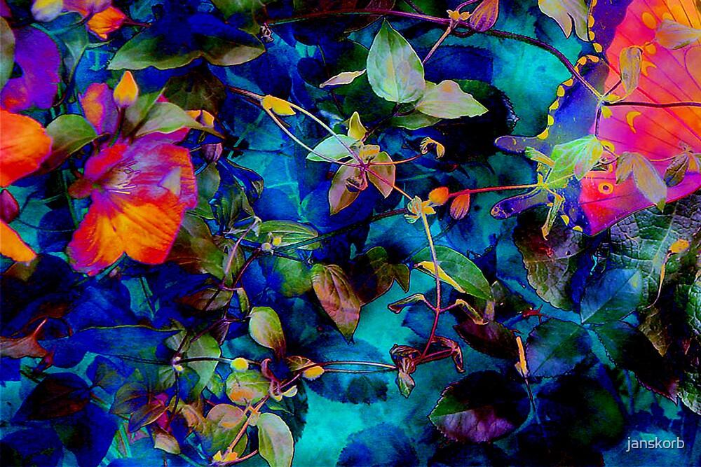 Butterfly in the garden2 by janskorb