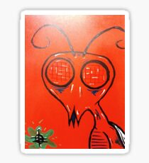 buged out Sticker