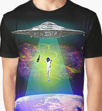Space Jesus Graphic T-Shirt