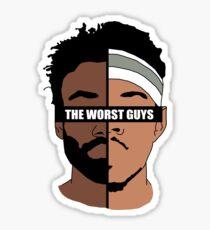 The Worst Guys Sticker