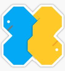 Square Python Sticker