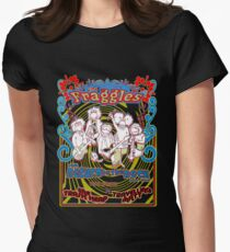 Fraggles - return to the rock tour Tee Womens Fitted T-Shirt