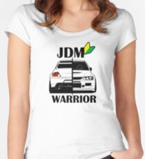JDM Warrior #1 Women's Fitted Scoop T-Shirt