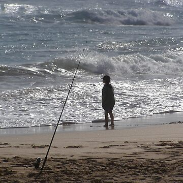 Small boy, big ocean. by Martinbryce