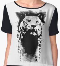 The Tiger Chiffon Top