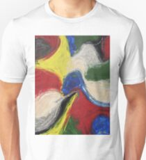 """Exuberance"" original abstract artwork by Laura Tozer Unisex T-Shirt"