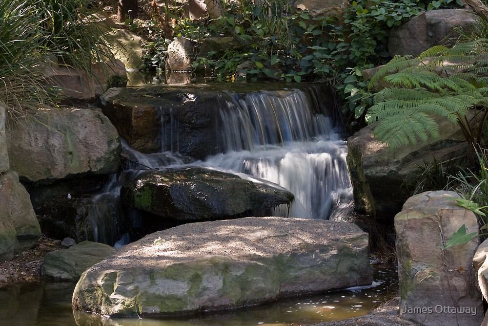 The Water Falls by James Ottaway