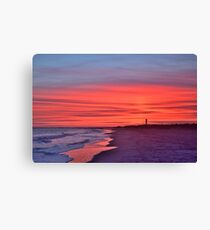 Sullivans SC Sunset Canvas Print