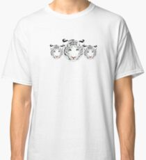 white tiger heads Classic T-Shirt