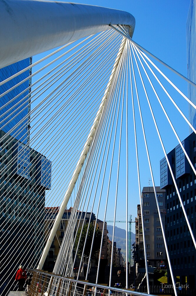 City of Bilbao #6 by Tom Clark