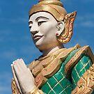 Nat Deity Statue, Burma by Petr Svarc