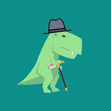 Grandpa T-rex by imotvoksim