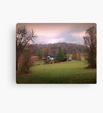 The Old One Room Schoolhouse Canvas Print