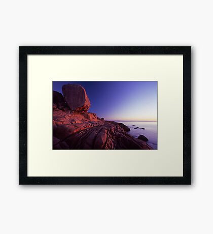 morning glow - Nth Qld Framed Print