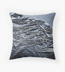 RATHER LIVE IN THE ICE... Throw Pillow
