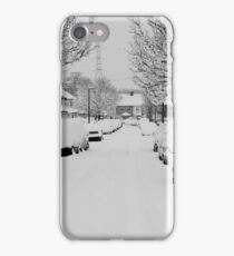 Snow Street Scene iPhone Case/Skin