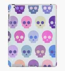 Colorful Skull Cute Pattern X iPad Case/Skin